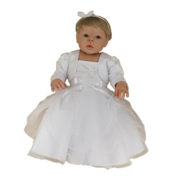robe de bapteme pour fille top robe blanche en plumetis et coton variantes ide robe with robe. Black Bedroom Furniture Sets. Home Design Ideas